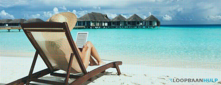 Solliciteren tijdens vakantie